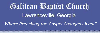 Galilean Baptist Church. Lawrenceville, GA